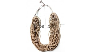 multi layers beads necklaces handmade fashion bali design
