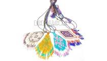 four color necklaces pendant glass beads miyuki