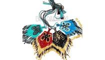 miyuki glass beads necklaces pendant butterfly mode