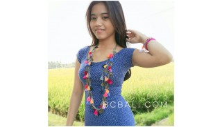 multi tassels fashion necklace collections