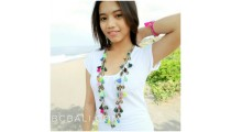multi tassels necklaces fashion single layer