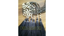 fresh water pearls tassels necklaces bead crystal