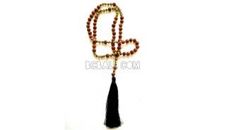 bead tassel necklaces genetri pendant