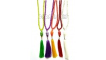 necklaces tassel yoga budha pendant beads pendant