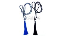 long tassel necklaces beads crystal pendant handmade
