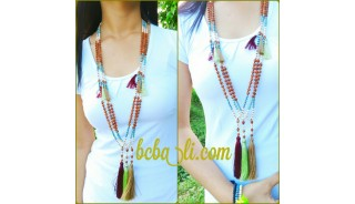 bali fashion necklaces mala beads handmade jewelry