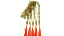 crystal beading necklace tassels mono color fashion