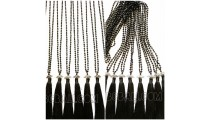beaded crystal tassels pendants necklaces trend