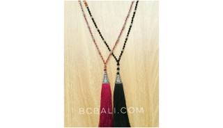 2color silver bronze cup fashion necklaces bead
