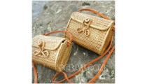 wallet purses bag ata grass hand woven handmade balinese design