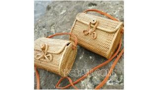 wallet purses bag ata grass hand woven handmade balinese design