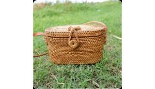 bali bag rattan ata grass hand woven design ethnic design