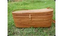 handmade handbag rattan grass women fashion antiq
