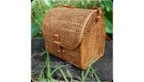ladies handbag handmade ethnic style rattan ata hand woven
