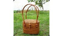 small coin purses bag ladies bag ata grass full hand woven