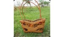 unique design balinese rattan ata handbag handmade bali style