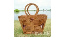 natural grass ata rattan butterfly style women handbag full handmade