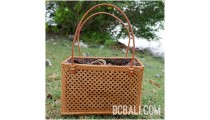 women handbag shopping beach natural handmade rattan grass