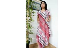 bali dressed women fashion bali clothing hand stamp rayon
