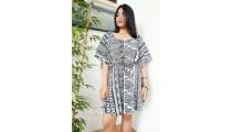 sun dress fabric printing rayon casual design fashion style short pant