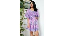 bali sundress fabric printing rayon casual design short