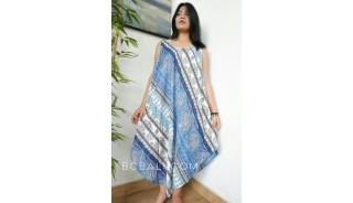 balinese fashion style clothing handmade design long dress