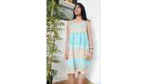 fashion clothes balinese fashion rayon sundress handmade