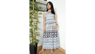 fashion women clothes balinese designer long dress casual