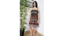 ladies fashion clothing batik fabric sun dressed style casual