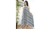 long dress bali batik hand printing handmade ladies clothes
