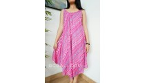 women fashion clothes sundress long wide rayon stamp handmade bali