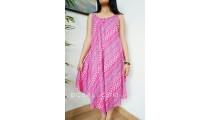 women fashion clothes sundress long wide rayon stamp handmade bali