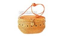 sling bags ata rattan ethnic motif handmade women design