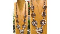 necklaces beads combination color circle design new style
