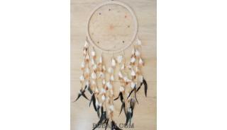 bali dream catcher handmade design long feather natural