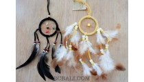 dream catcher key hanging accessories feathers handmade