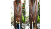 5color full rudraksha mala necklaces buddha head chrome gold large prayer