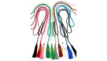 50 pieces free shipping pack tassels necklaces beads long strand