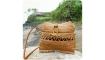 classic style rattan sling bags unique fashion design handmade