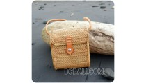 passport rattan sling bags full handmade indonesia