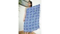 bali handmade rayon batik sarongs beach cloth hand stamp