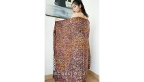 balinese handmade rayon batik sarongs beach clothing hand stamp