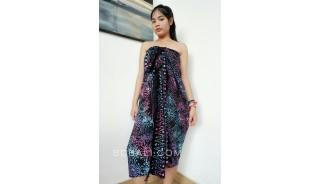 rayon batik sarongs hand stamp bali handmade design