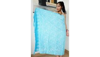 rayon batik sarongs hand stamp handmade design bali
