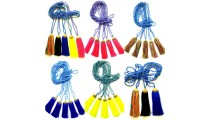 colorful necklaces tassels beads phyrus bronze cup handmade wholesale price