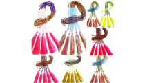 crystal small beads colorful design tassels necklaces wholesale