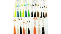 fresh water pearls tassel necklace wholesale price 40 pieces free shipping