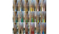 full agate beads ceramic necklace tassels best seller wholesale free shipping