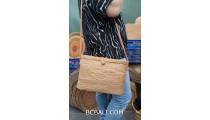 straw bags ata grass hand woven bali handmade design ethnic