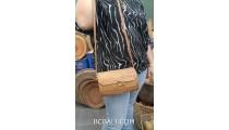 unique hand woven straw ata grass handmade balinese design
